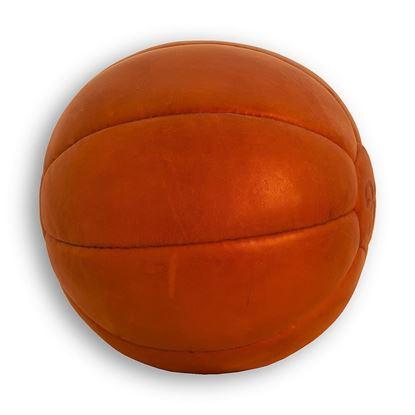 Vintage Medicine Ball 3 kg - Tan Brown