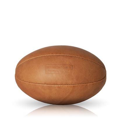 Vintage Rugby Ball 1940 - Tan Brown