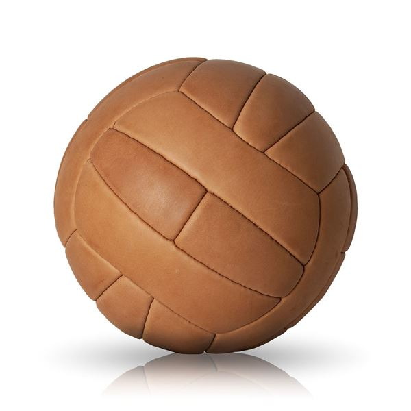 Picture of Vintage Soccer Ball WC 1958 - Tan Brown