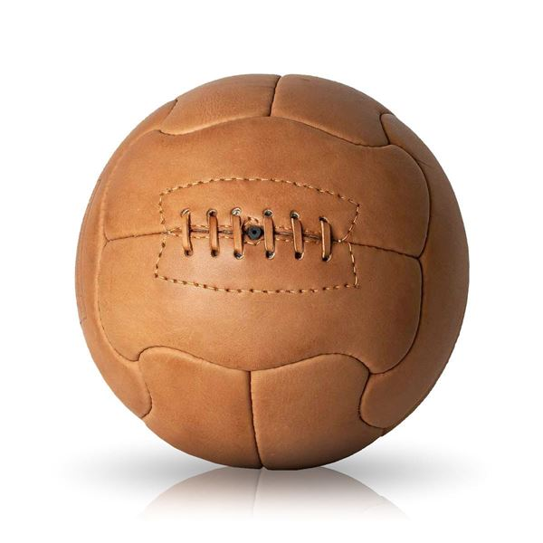 Picture of Vintage Soccer Ball WC 1950 - Tan Brown