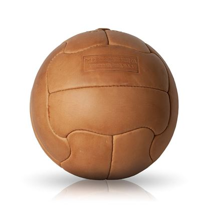 Vintage Soccer Ball WC 1950 - Tan Brown
