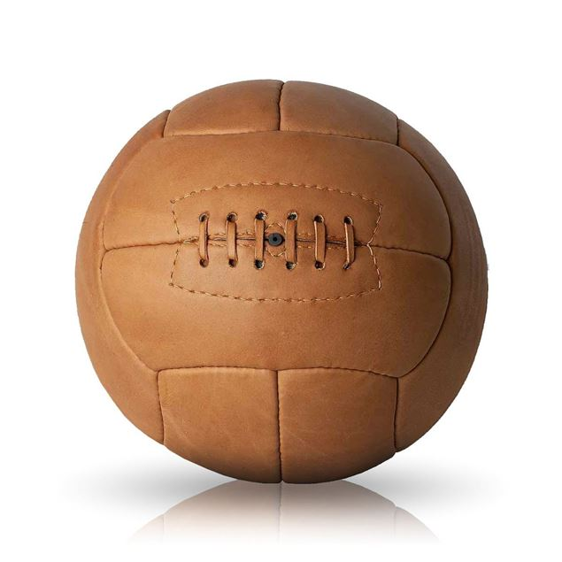 Picture of Vintage Soccer Ball WC 1938 - Tan Brown