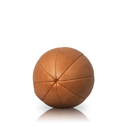 Vintage Rugby Ball 1950 - Tan Brown