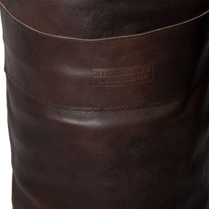 Vintage Boxing Punch Bag 1930's - Dark Brown