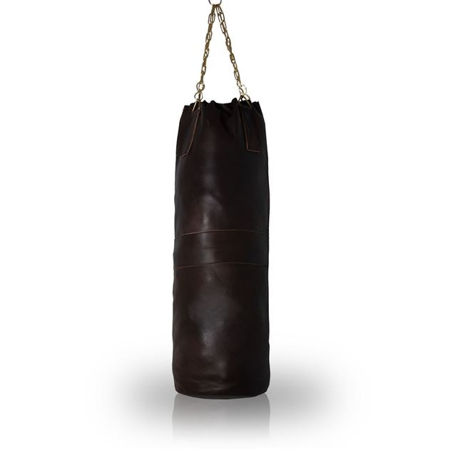 Picture of Vintage Boxing Punch Bag 1930's - Dark Brown