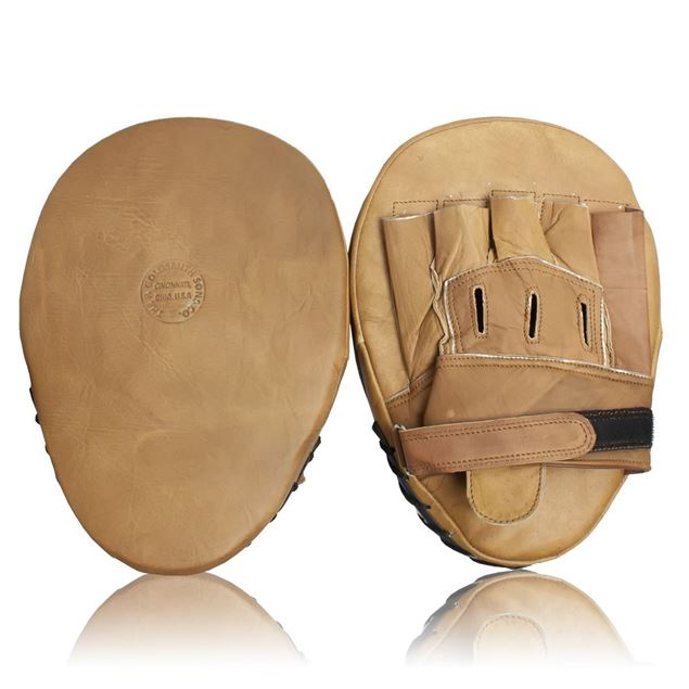 Picture of Vintage Boxing Coaching Pads - Tan Brown