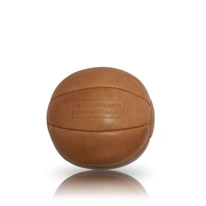 Vintage Medicine Ball 2 kg - Tan Brown