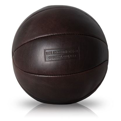 Vintage basketball 1910 - Dark Brown