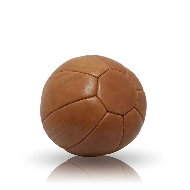 Picture of Vintage Medicine Ball 2 kg - Tan Brown