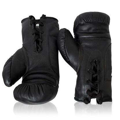 Vintage Boxing Gloves 1930's - Black