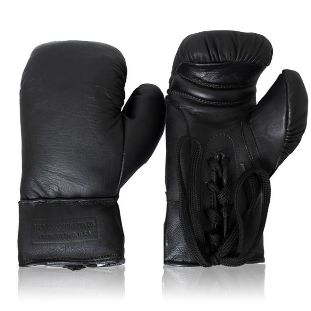 Picture of Vintage Boxing Gloves 1930's - Black