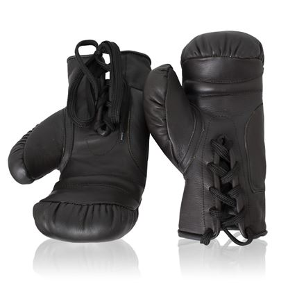 Vintage Boxing Gloves 1930's - Dark Brown
