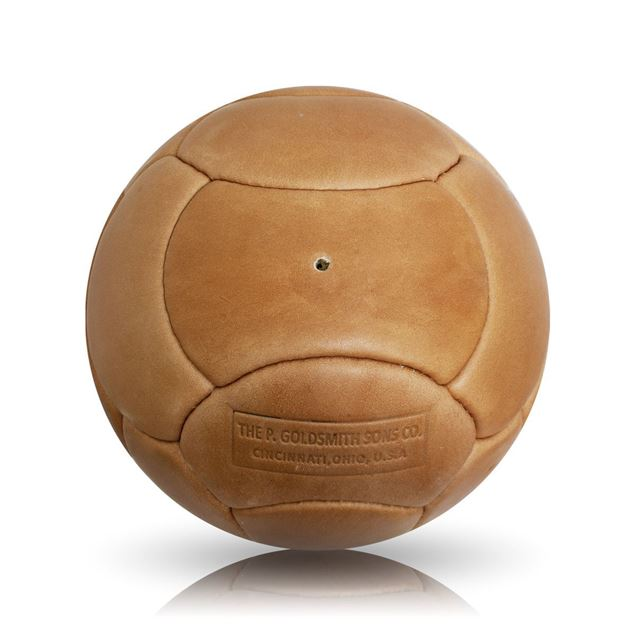 Picture of Vintage Soccer Ball WC 1962 - Tan Brown
