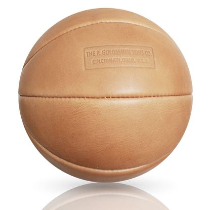 Vintage basketball 1910 - Tan Brown