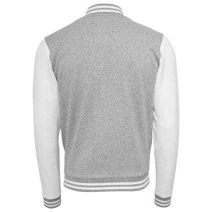Style C Coat - Grey/White