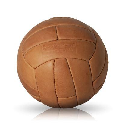Vintage Soccer Ball WC 1958 - Tan Brown