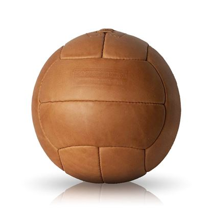Vintage Soccer Ball WC 1938 - Tan Brown