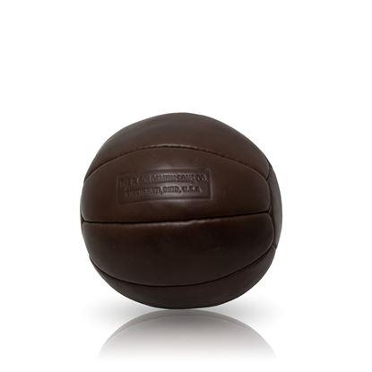 Vintage Medicine Ball 2 kg - Dark Brown