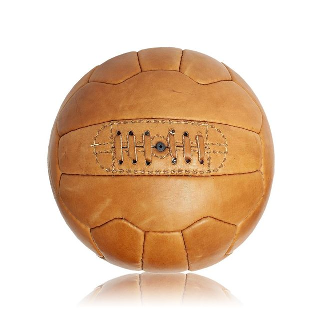 Picture of Vintage Soccer Ball WC 1954 - Tan Brown